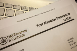 lost national insurance number letter example