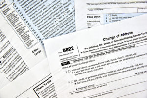 National Insurance Change address application from